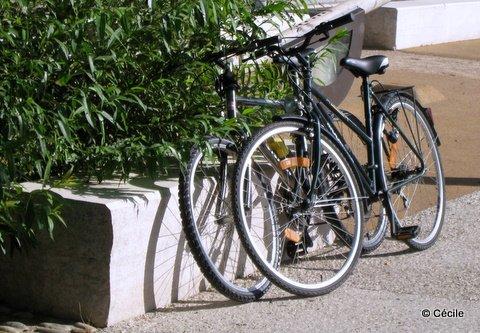 Les vélos bronzent