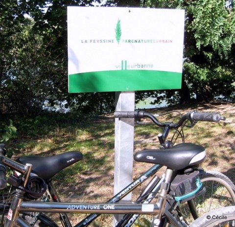 Les vélos à la feyssine