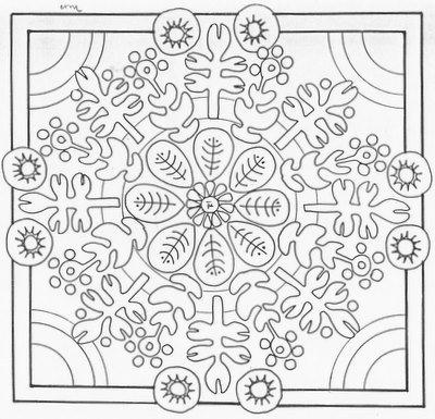 Exemple de mandala