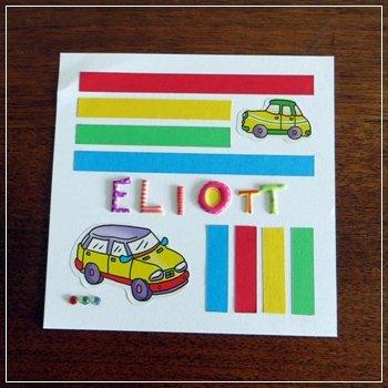 Carte pour Eliott