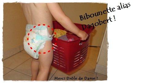 Bibounette alias Dagobert !