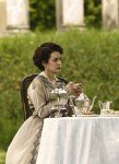 Lady Cora drinks Tea